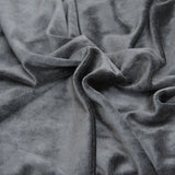 Black Velour Bamboo Fabric OBV Black Roll from $7.60/yard - Kinderel Bamboo Fabrics
