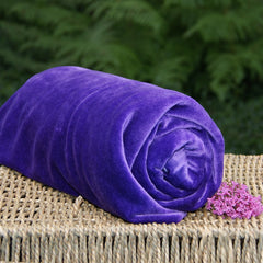 BAMBOO Velour Fabric OBV Purple
