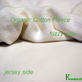 Organic Cotton Fleece Fabric Roll - Kinderel Bamboo Fabrics