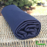 PUL Fabric (PolyUrethane Laminate) Black by the Yard or Wholesale - Kinderel Bamboo Fabrics