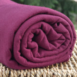 BAMBOO Stretch Jersey Fabric Tawny Port 19-1725 Bolts from $ 7.12/yard
