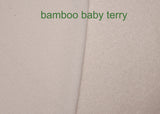 Bamboo Organic Cotton Baby Loop Terry Knit Fabric - Kinderel Bamboo Fabrics