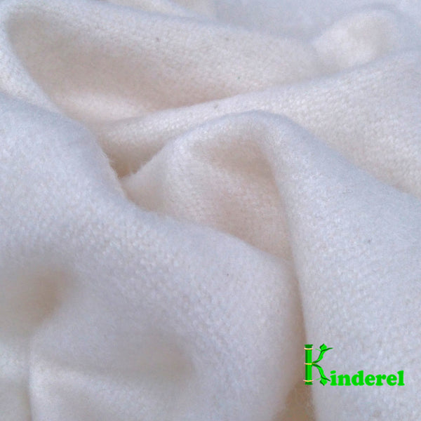Organic Bamboo Flannel Fabric, Heavy Weight - Kinderel Bamboo Fabrics