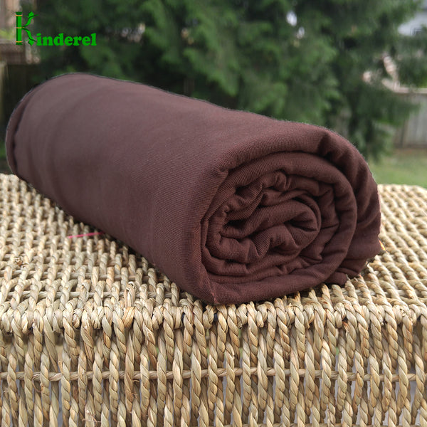 BAMBOO Stretch Jersey Fabric Chicory Coffee 19-4524 Bolts from $ 7.12/yard - Kinderel Bamboo Fabrics