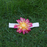 Headband - Large Floral - Kinderel Bamboo Fabrics