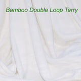 Bamboo Organic Cotton Double Loop Terry Knit Fabric by the Yard - Kinderel Bamboo Fabrics