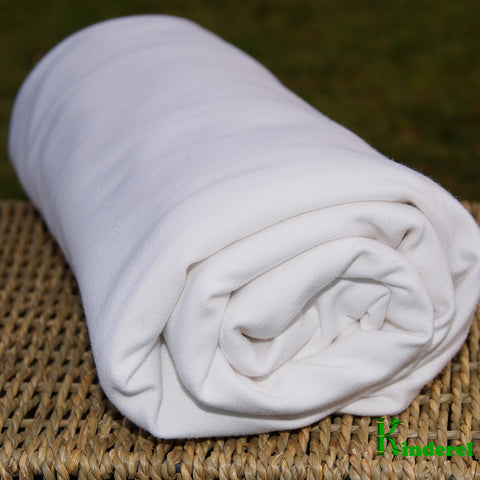 Bamboo Organic Cotton French Terry Fabric Natural by the Yard - Kinderel Bamboo Fabrics