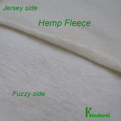 Hemp/Organic Cotton Fleece Fabric