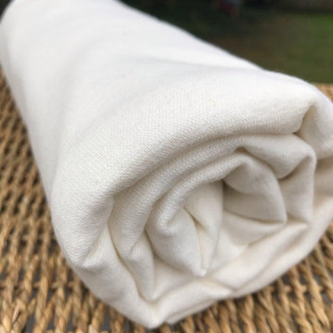 Hemp Organic Cotton Stretch Rib Fabric by the Yard and Wholesale
