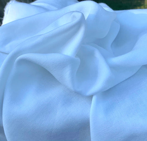 Bamboo Muslin (Swaddle) Plain Fabric by the Yard - Kinderel Bamboo Fabrics