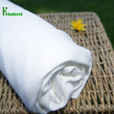 Bamboo Organic Cotton Interlock Knit Fabric Natural by the Yard - Kinderel Bamboo Fabrics