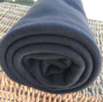 Black BAMBOO Organic Cotton Interlock Fabric 220 GSM Rolls from $7.12/yard - Kinderel Bamboo Fabrics