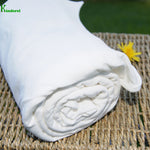 Bamboo/Organic Cotton Jersey Fabric Natural Roll from $US 6.65/yard - Kinderel Bamboo Fabrics