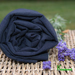 Wholesale Black Bamboo Stretch Jersey Fabric  Rolls from $7.12/yard - Kinderel Bamboo Fabrics