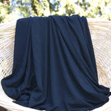 Bamboo Stretch Jersey Fabric Black Rolls from $7.12/yard - Kinderel Bamboo Fabrics