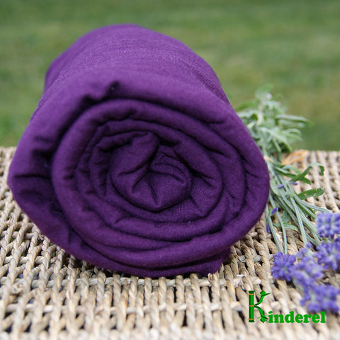 BAMBOO Stretch Jersey Fabric Potent Purple Wholesale Rolls - Kinderel Bamboo Fabrics
