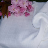 Bamboo Muslin (Swaddle) Natural Fabric - Kinderel Bamboo Fabrics