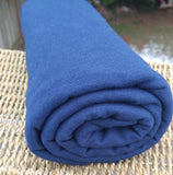 Bamboo Stretch French Terry NAVY Fabric Bolts from $8.00/yard - Kinderel Bamboo Fabrics