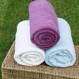 Organic Cotton Velour Fabric - Natural, OCV Wholesale Bolts from $7.90/yard - Kinderel Bamboo Fabrics