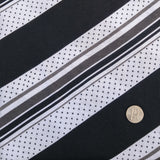 Bamboo Jersey Polka Dots & Stripes Knit Fabric - Kinderel Bamboo Fabrics