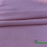 Salmon Rose Bamboo Stretch French Terry by the Yard or Wholesale - Kinderel Bamboo Fabrics