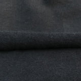 Bamboo Stretch Fleece Knit Fabric, Black by the Yard - Kinderel Bamboo Fabrics