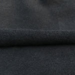 Bamboo Stretch Fleece Knit Fabric, Black, Wholesale - Kinderel Bamboo Fabrics