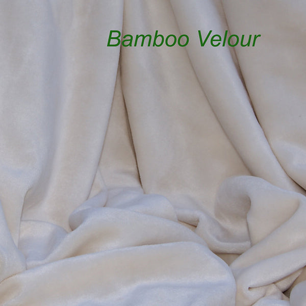 ea2d8c2255d ... Bamboo Organic Cotton Velour Fabric OBV Natural Color - Kinderel Bamboo  Fabrics ...