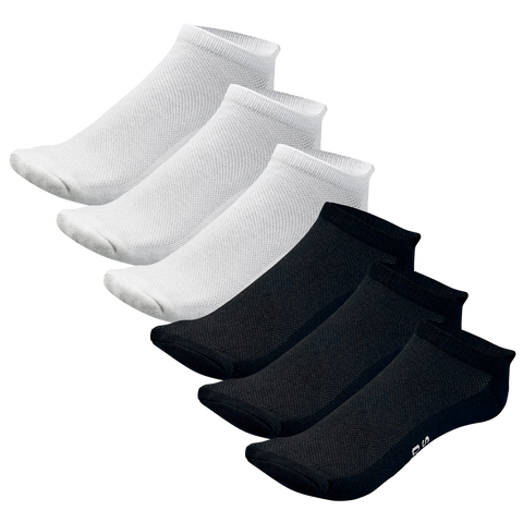 Mens and Womens Unisex No Show Bamboo Socks