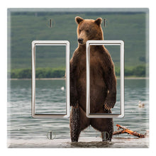 Load image into Gallery viewer, Grizzly Bear Standing River