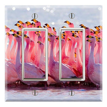 Load image into Gallery viewer, Pat Flamingos Flamboyance