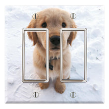 Load image into Gallery viewer, Snow Puppy Yellow Labrador