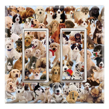 Load image into Gallery viewer, Dog Puppy Collage