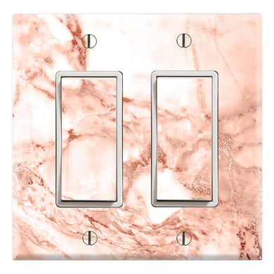 Rose Gold Marble Background Print