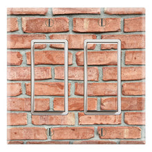 Load image into Gallery viewer, Muro Red Brick Wallpaper Design Print