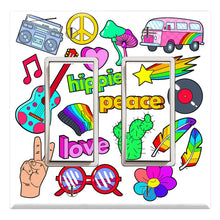 Load image into Gallery viewer, Hippie Lifestyle Peace Pink Love
