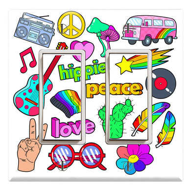 Hippie Lifestyle Peace Pink Love