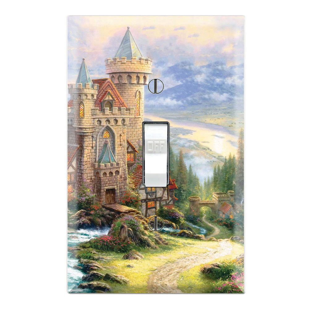 Thomas Kinkade Guardian Castle