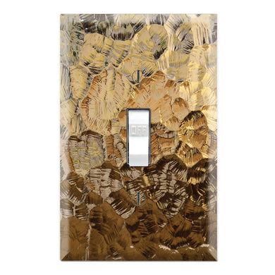 Brown Gold Glass Texture Background Print