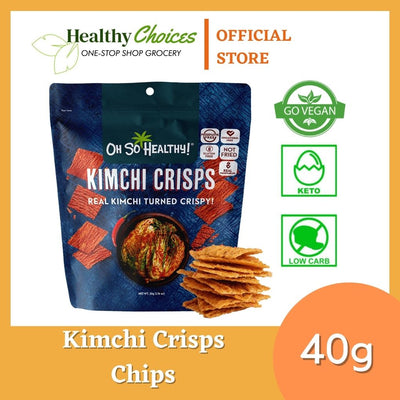 Kimchi [Vegan Friendly] healthy chips 40g by Oh So Healthy - Healthy Choices PH by Casa Kusina