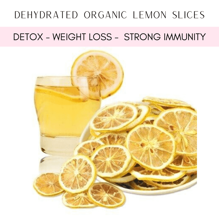 Dehydrated Organic Lemon Slices - Detox and Vitamin C 70grams - Healthy Choices PH by Casa Kusina