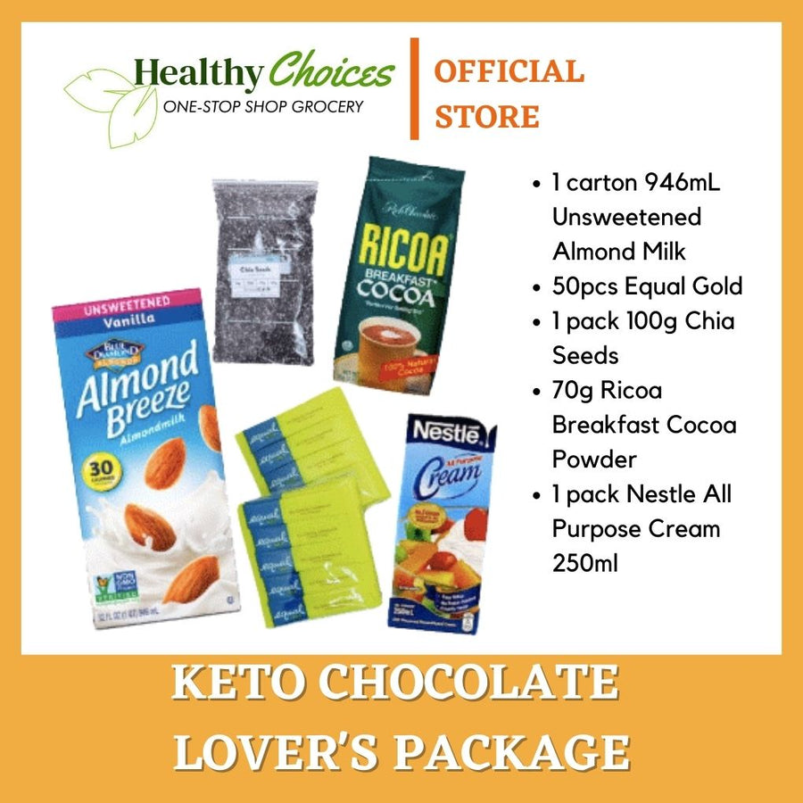 Keto Chocolate Lovers Package - Healthy Choices PH by Casa Kusina