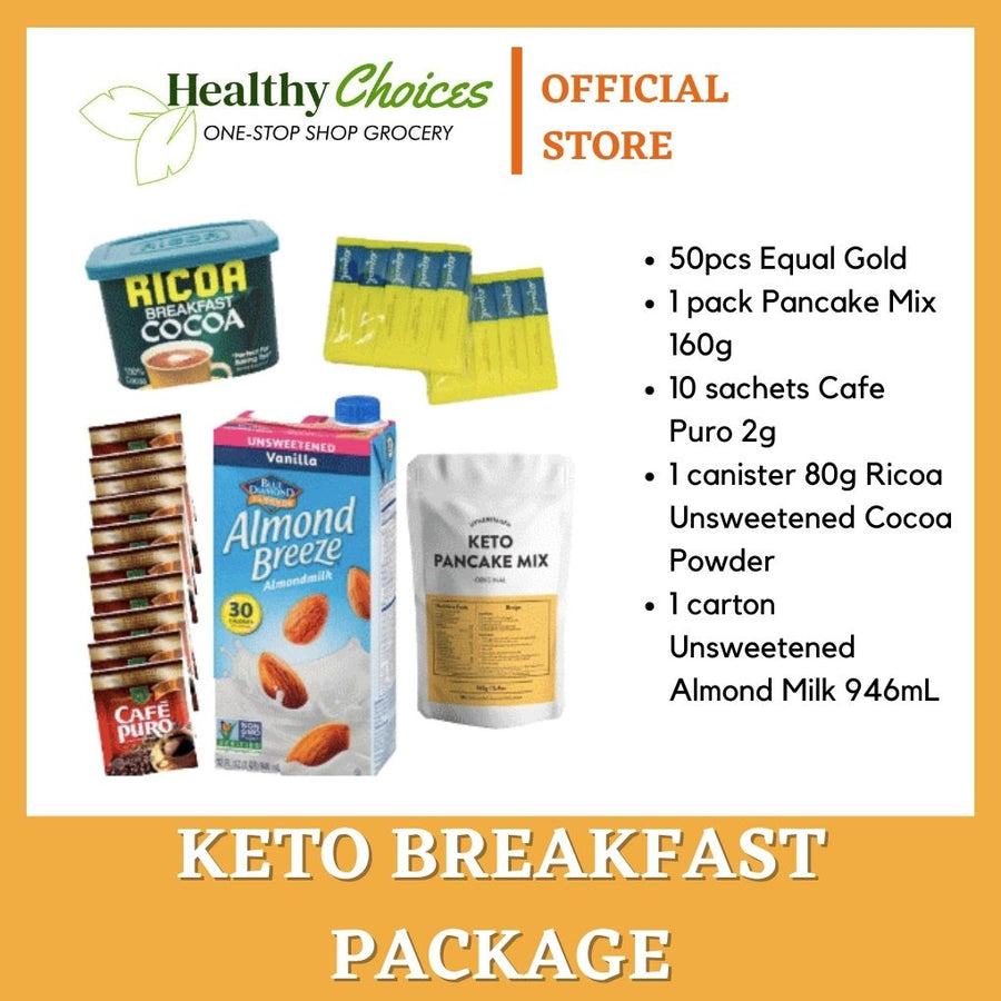 Keto Breakfast Package - Healthy Choices PH by Casa Kusina