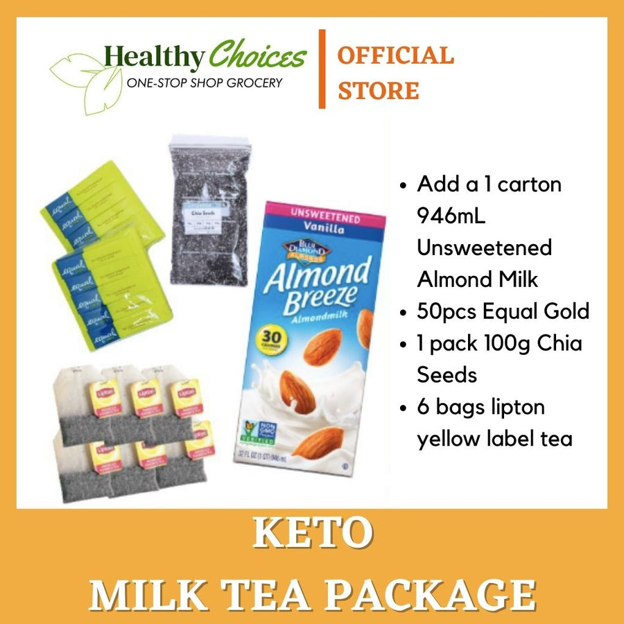 Keto Milk Tea Package - Healthy Choices PH by Casa Kusina