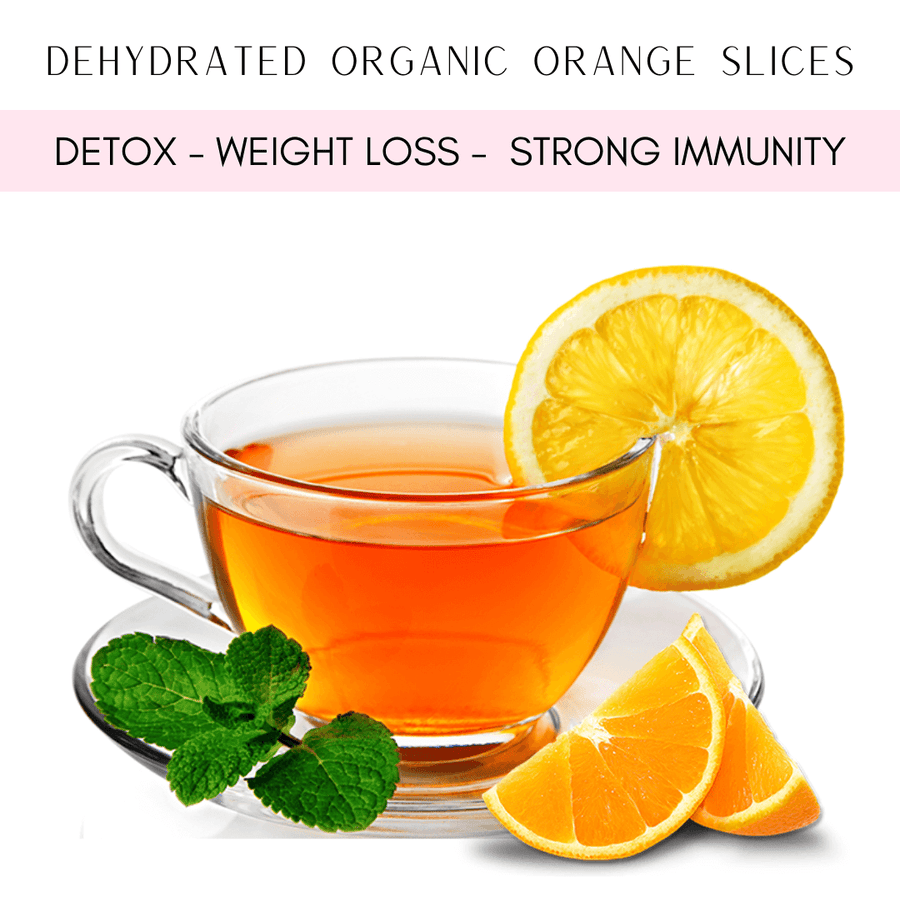Dehydrated Organic Orange Slices Tea- Vitamin C and Detox 50g - Healthy Choices PH by Casa Kusina