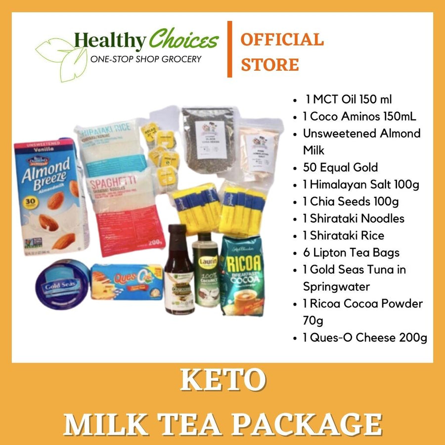 Keto Starter/Newbie Package - Healthy Choices PH by Casa Kusina