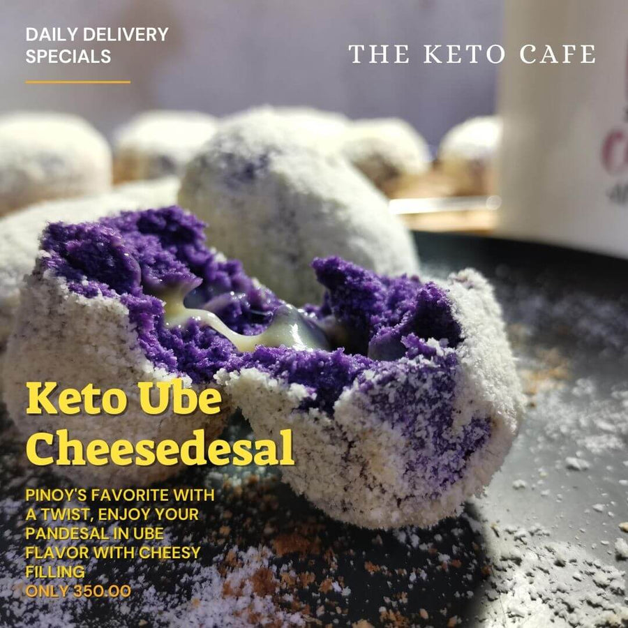 Keto Ube Cheesedesal (6pcs) (Manila delivery only) - Healthy Choices PH by Casa Kusina