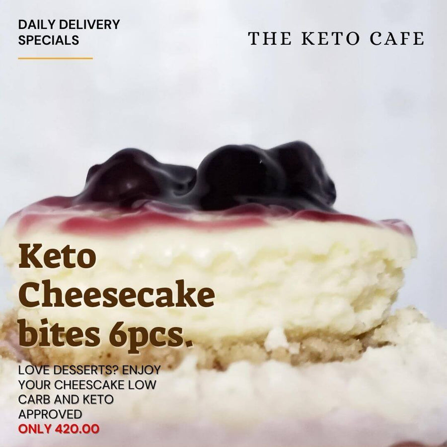 Keto Cheesecake (6pcs) (Metro Manila delivery only) - Healthy Choices PH by Casa Kusina