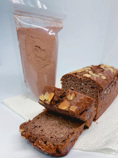 Chocolate Keto Bread Mix - Low Carb, Gluten Free 250g - Healthy Choices PH by Casa Kusina