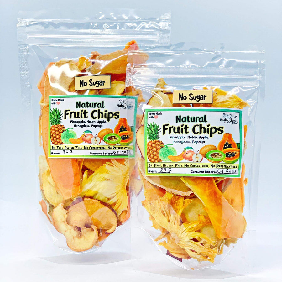 Unsweetened Natural Fruit Chips- SOLD OUT!! - Healthy Choices PH by Casa Kusina